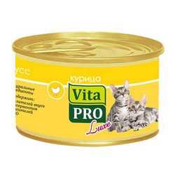 Vita Pro Luxe консервы для котят 85 гр х 24 шт