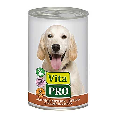 Vita Pro консервы для собак с дичью (0,40 кг) 6 шт