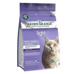 Arden Grange Light сухой корм для кошек низкокалорийный 2 кг