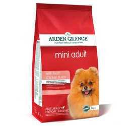 Arden Grange Adult Mini сухой корм для собак мелких пород с курицей 6 кг