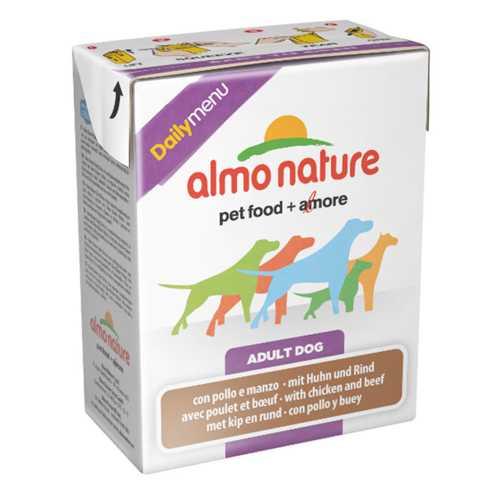 Almo Nature Dailymenu консервы для собак курица с говядиной (0,375 кг) 1 шт