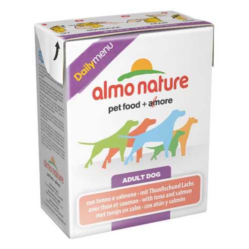Almo Nature Dailymenu консервы для собак тунец с лососем (0,375 кг) 1 шт