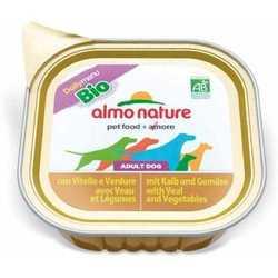 Almo Nature Dailymenu консервы для собак телятина с овощами (0,1 кг) 32 шт