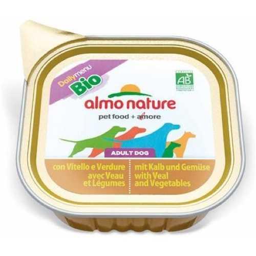 Almo Nature Dailymenu консервы для собак телятина с овощами (0,3 кг) 9 шт