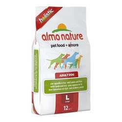 Almo Nature Holistic сухой корм для собак крупных пород с ягненком 12 кг
