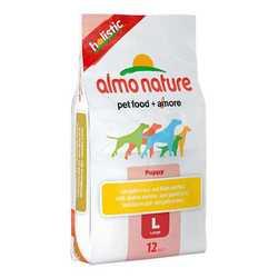 Almo Nature Holistic сухой корм для щенков крупных пород 12 кг