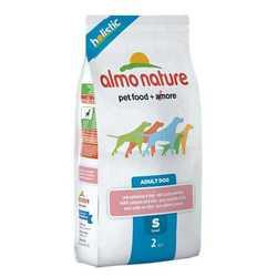 Almo Nature Holistic сухой корм для собак мелких пород с лососем 2 кг