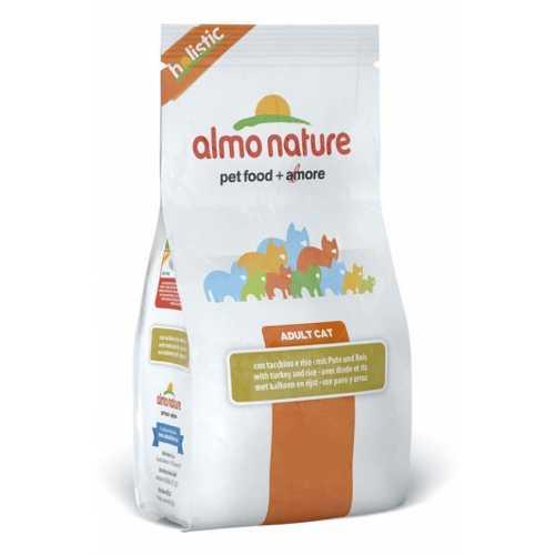 Almo Nature Holistic сухой корм для кошек с индейкой 2 кг