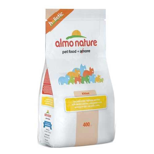 Almo Nature Holistic сухой корм для котят с курицей 2 кг