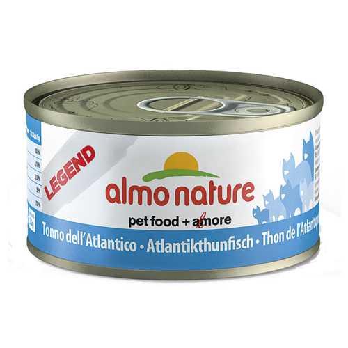 Almo Nature Legend консервы для кошек с тунцом (0,07 кг) 1 шт