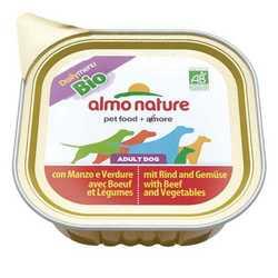 Almo Nature Dailymenu консервы для собак говядина с овощами (0,3 кг) 9 шт