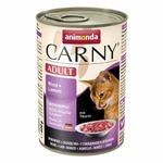 Animonda Carny консервы для кошек с говядиной и ягненком (0,40 кг ) 6 шт