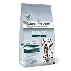 Arden Grange Sensitive сухой корм для собак с рыбой 12 кг