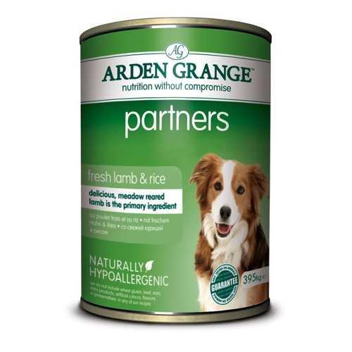 Арден Гранж консервы для собак с ягненком (0,395 кг) 6 шт