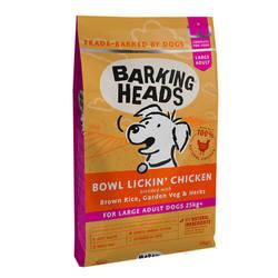 Barking Heads корм для собак крупных пород с курицей 12 кг
