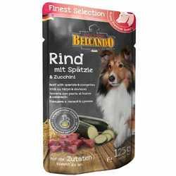 Belcando паучи для собак говядина с лапшой и цукини (0,125 кг) 12 шт