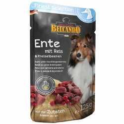 Belcando паучи для собак утка,рис и брусника (0,125 кг) 12 шт