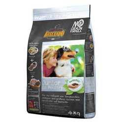 Belcando Junior Grain-free корм для щенков Средних и Крупных пород 4 кг