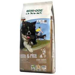 Bewi dog сухой для взрослых собак ягненок с рисом 12,5 кг