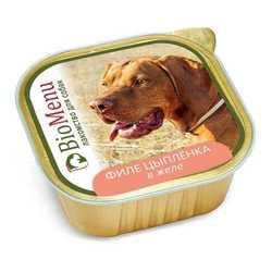 Biomenu консервы для собак филе куриное в желе (0,15 кг) 1 шт