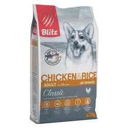 Блиц сухой корм для собак Мелких и Средних пород 13 кг