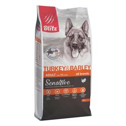 Блиц сухой корм для собак всех пород с Индейкой 15 кг