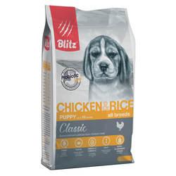 Блиц сухой корм для щенков Мелких и Средних пород 3 кг