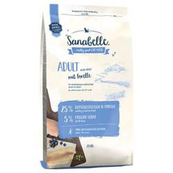 Bosch Sanabelle Trout сухой корм для кошек с форелью 400 гр