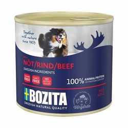 Bozita Beef консервы для собак паштет с говядиной (0,625 кг) 1 шт