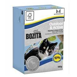 Bozita Outdoor Active корм для активных кошек 2 кг