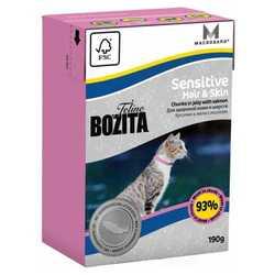 Bozita Sensitive Hair Skin корм для кошек с проблемами кожи и шерсти 2 кг
