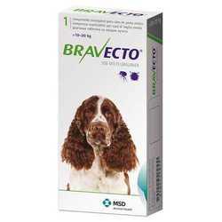 Bravecto таблетки жевательные для собак 10-20 кг