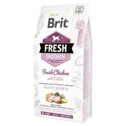 Brit Fresh Puppy корм для щенков с курицей 12 кг
