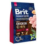 Brit Premium Senior L + XL корм для пожилых собак крупных  и гигантских пород 15 кг