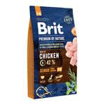 Brit Premium by Nature Senior S +M корм для пожилых собак мелких и средних пород 15 кг