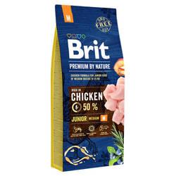 Brit Premium by Nature Junior M корм для щенков всех пород 18 кг