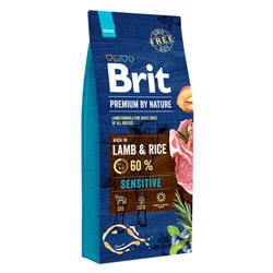 Brit Premium by Nature Sensitive Lamb корм для собак с ягненком 15 кг