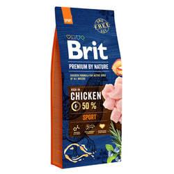 Brit Premium by Nature Sport сухой корм для активных собак 18 кг