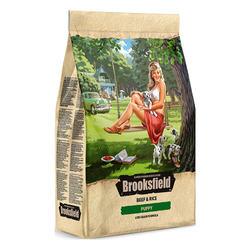 Brooksfield Puppy корм для щенков с говядиной 3 кг