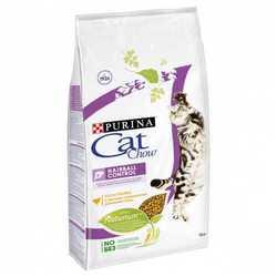 Cat Chow корм для кошек контроль шерсти 15 кг