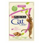 Cat Chow паучи для кошек ягненок с зеленой фасолью в желе (0,085 кг) 24 шт