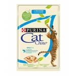 Cat Chow паучи для кошек лосось с горошком в желе (0,085 кг) 24 шт