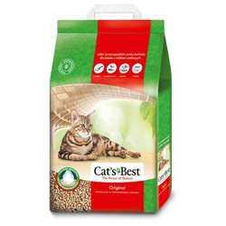 Cats Best Original наполнитель древесный комкующий 4,3 кг