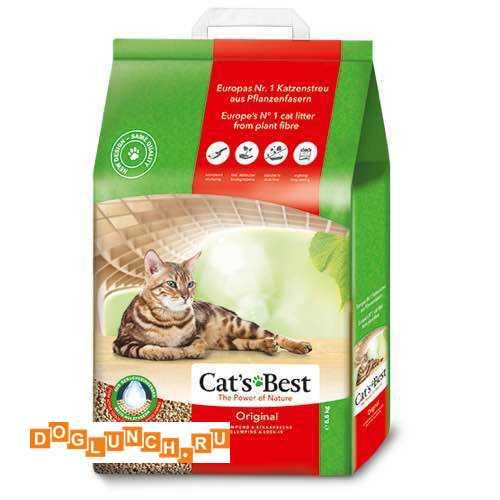 Наполнитель CatS Best Eko Plus 4.3kg