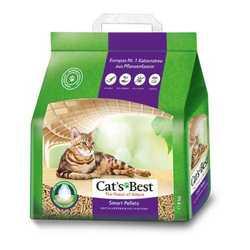 Cats Best Smart Pellets наполнитель древесный комкующий 5 кг