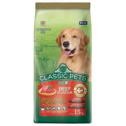 Classic Pets корм для собак с говядиной 15 кг