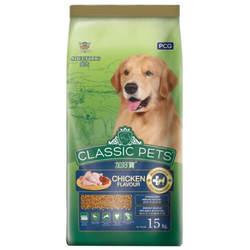 Classic Pets корм для собак с курицей 15 кг