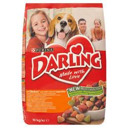 Darling Poultry корм для собак с птицей и овощами 10 кг