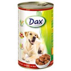 Dax консервы для взрослых собак с говядиной (1,240 кг) 12 шт