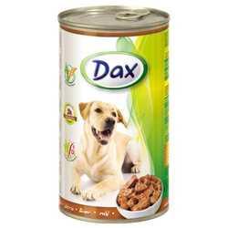 Dax консервы для взрослых собак с печенью (1,240 кг) 12 шт